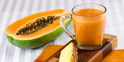 thực phẩm giàu vitamin C đu đủ chín